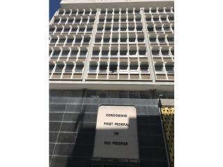 Cond First Federal. Off de 540' en $55k