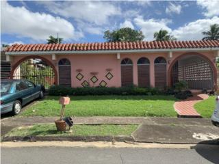 Parkville Guaynabo-casa terrera-3h, 2 b.