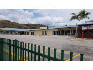 CENTRO COMERCIAL CON GASOLINERA
