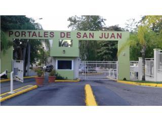 Cond.Portales De San Juan,Remodelado,3h-1b,Fresca
