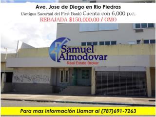 REBAJADA $125,000.00 / OMO / Ave. Jose de Diego