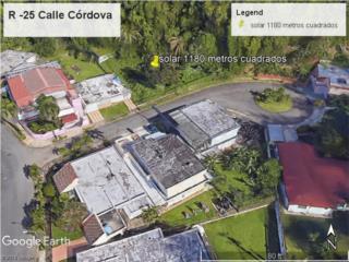Villa España, solar de 1180 mc x $45 mil, llano