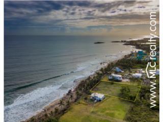 Solar unico frente a la Playa Los Almendros!