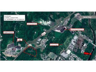 13.74 acres para venta frente PR-2
