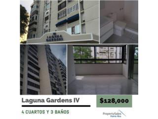 Cond. Laguna Gardens IV, 4 cuartos 3baños