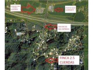 FINCA ALMIRANTE NORTE 2.5 CUERDAS / EXCELENTE