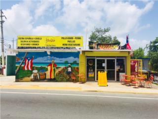 Venta Llave Restaurante YUIZA, Loiza PR USA