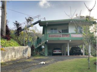 Casa de 2 niveles con 4 cuerdas de terreno.