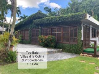 3 Prop Villas de la Colina Toa Baja 1.5 Cdas