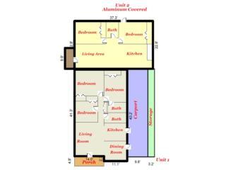 Casa + Apartamento2H-1B! Detras de Walgreens!