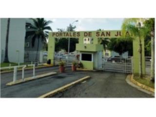Cond. Portales de San Juan ,3/1, $67K