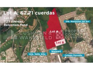 Terreno para desarrollo en Ponce con 70 CDAS