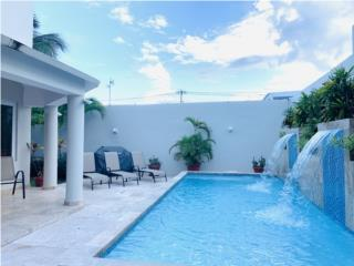 Next to beach newly renovated home pool gated area
