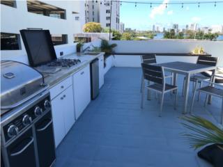 3H, 2B - Terrace & Outdoor Kitchen in Condado