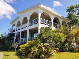 2 Unit Ocean View Home, 10 Acres, tennis court