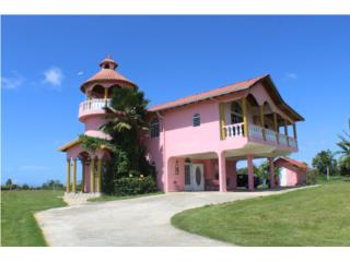 Mediterranean home on 7-acre farm Aguadilla