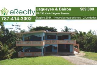 6/4 Multifamiliar - Bo Jagueyes INVERSIONISTA!