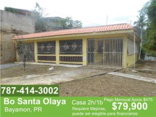 Bayamon - Bo Santa Olaya - 2/2 REBAJADA!
