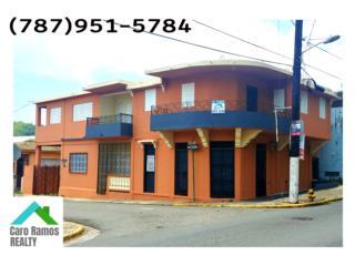 Edificio de 3 Apartamentos y Local Comercial