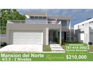 Cataño - La Mansion del Norte 4/3.5 - Renovada !