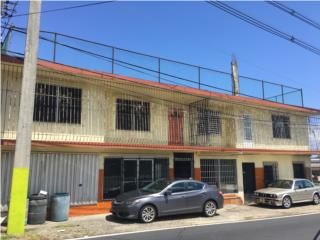 Edificio comercial,2 locales,2 aptos,2 casas