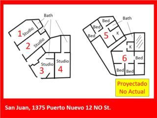 POTENCIAL PARA 4 ESTUDIOS + 2 APTOS (3+1) C/U