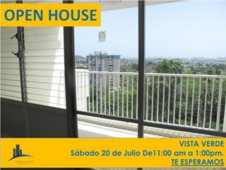 Cond. Vista Verde - OPEN HOUSE - Sabado 20