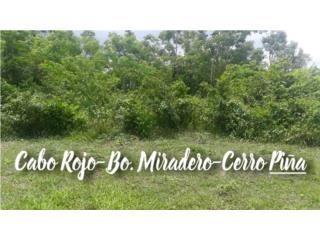 Cabo Rojo- Barrio Miradero - Cerro Piña