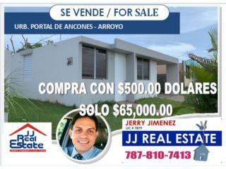 PORTAL DE ANCONES - COMPRA CON SOLO $500