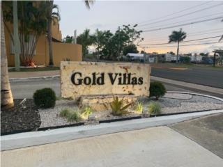 Cond. Gold Villas, 3H, 2B, control acceso.