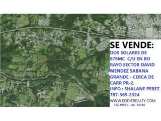 876mc Bo. Rayo  Cerca PR 2 (Lugar Tranquilo)