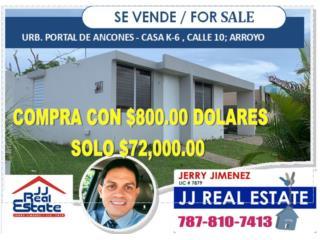 URB.PORTAL DE ANCONES  CON $800