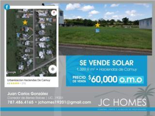 Haciendas de Camuy solar 1,389 m2 $60,000