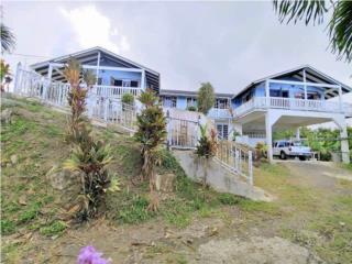 Luquillo, casa vista al mar, 2,500 m/2 solar