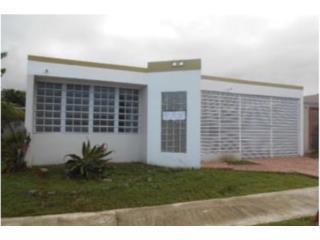 Urb. Villa Borinquen, 3cuartos, 2baños.