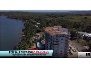 Penthouse 8vo piso 2niveles! 2,149 P/C Playa!