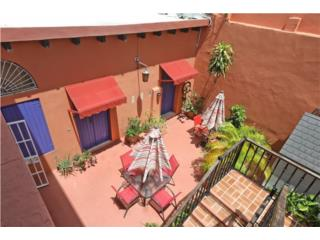 Historic Mansion: coutyards & rooftop terrace