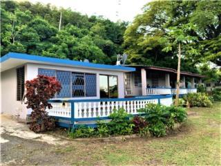 Villa en Campo -5 cuerdas, 2 casas, piscina