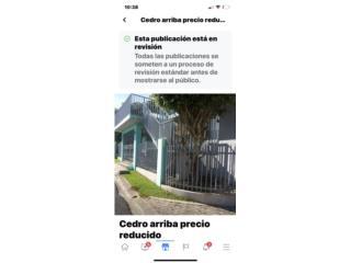 Barrio Cedro Arriba (precio reducido)