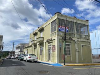 Edif. Comercial con apartamento 3-1 Pueblo