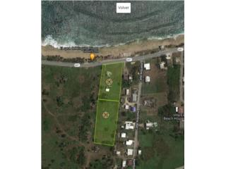 2.2 acres Ocean Front with a 3/1 house
