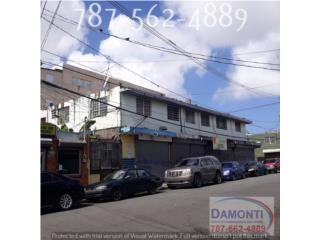 6 locales Comerciales, 6 Apartamentos $270k