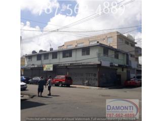 6 locales Comerciales + 6 Apartamentos $270k