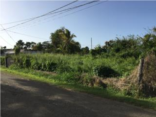 Se vende solar de esquina en Garrochales, Arecibo