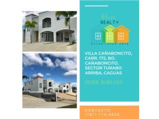 Villas Cañaboncito Caguas desde $195K