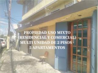 Propiedad Uso Mixto-5 Apartamento 1 Comercio