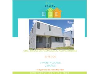 Aguas Buenas, 3 habitaciones, 2 baños, $148K
