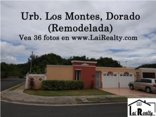 Los Montes - De Esquina, remodelada, 422 m/c