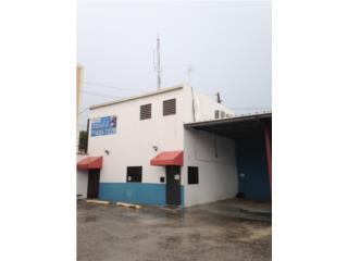 Edificio comercial con estacionamiento, Ponce