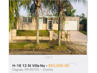 787-633-7866 VILLA NUEVA $83.000